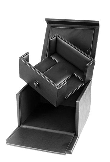 black card ring box
