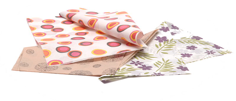 Printed Tissue Accessories for Gift Boxes